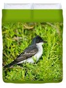 Eastern Kingbird Duvet Cover