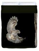 Eastern Screech Owl Duvet Cover