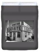 Eat Rite Diner Route 66 Duvet Cover
