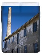 Electrical Repair Shop Alcatraz Island Duvet Cover