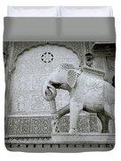 The Beautiful Elephant Duvet Cover