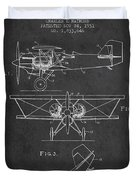 Emergency Flotation Gear Patent Drawing From 1931 Duvet Cover by Aged Pixel