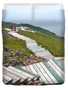 End Of Skyline Trail In Cape Breton Highlands Np-ns Duvet Cover