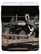 Engine 491 In The Colorado Railroad Museum Duvet Cover
