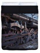 Engine 5629 In The Colorado Railroad Museum Duvet Cover