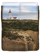 Espichel Cape Lighthouse Duvet Cover