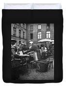 Europe Market, C1910 Duvet Cover