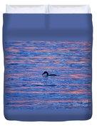 Evening Swim Duvet Cover