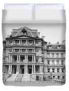 Executive Office Building Duvet Cover