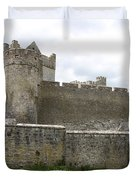 Exterior Of Cahir Castle Duvet Cover