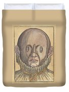 Eye Treatment, 1583 Duvet Cover