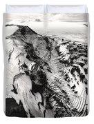 Eyjafjallajokull And The Glacier Duvet Cover