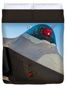 F-22 Raptor Jet Duvet Cover