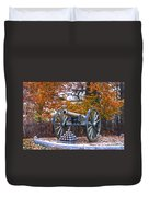Facing Pickettes Charge Duvet Cover