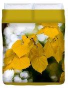 Fall Arrives Duvet Cover