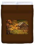 Fall At The Farm Duvet Cover