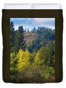 Fall In Spokane Duvet Cover