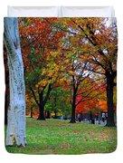 Fall Walk Duvet Cover