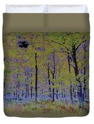 Fantasy Forest Art Duvet Cover
