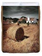 Farmland Duvet Cover by Carlos Caetano