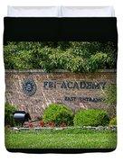 Fbi Academy Quantico Duvet Cover