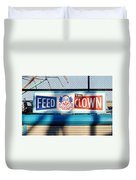 Feed The Clown Duvet Cover