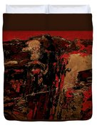 Feng Shui - Gold Mountain Duvet Cover