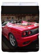 Ferrari 360 Spider Duvet Cover