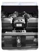 Ferrari 430 Scuderia Engine Duvet Cover