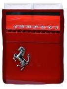 Ferrari Horse Duvet Cover