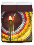 Ferris Wheel Evergreen State Fair Duvet Cover