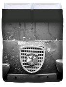 Fiat Grille Emblem Duvet Cover