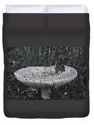 Field Mouse On Mushroom Cap  Duvet Cover
