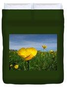Field Of Buttercups Duvet Cover