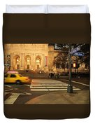 Fifth Avenue Duvet Cover