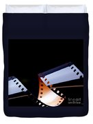 Film Strip Abstract Duvet Cover by Tim Hester