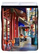Findlay Market In Cincinnati 0006 Duvet Cover