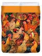 Fine Fowl Duvet Cover