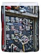 Fireman Control Panel Duvet Cover