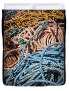 Fishing Ropes Duvet Cover