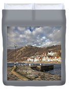 Fishing Village Of Molle In Sweden Duvet Cover