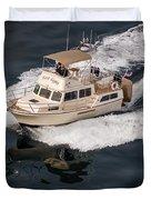 Fleming Yacht's Corvette Duvet Cover