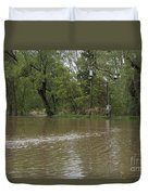 Flooded Park Duvet Cover