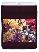 Floral Art V Duvet Cover