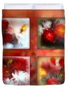 Floral Collage Duvet Cover