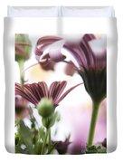 Flower Background Duvet Cover