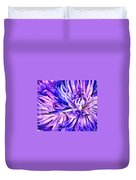 Flower Closeup Duvet Cover