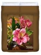 Flowers In Bloom Duvet Cover