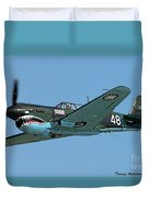 Flying Tiger Duvet Cover