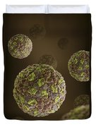 Foot-and-mouth Disease Virus Duvet Cover